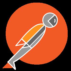 Logo narzędzia Postman
